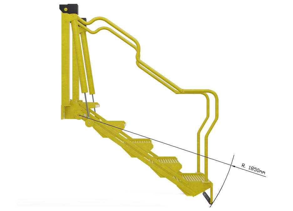 foto escada-pantografica-modelo-PF1605-redlands